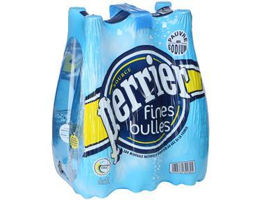 Pack de Perrier Fines Bulles 6 x 1 L (1,68€ sur carte + BDR 0.50€)