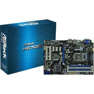 carte-mère ASRock H67DE3 ATX - LGA1155 Socket - H67 - LGA1155