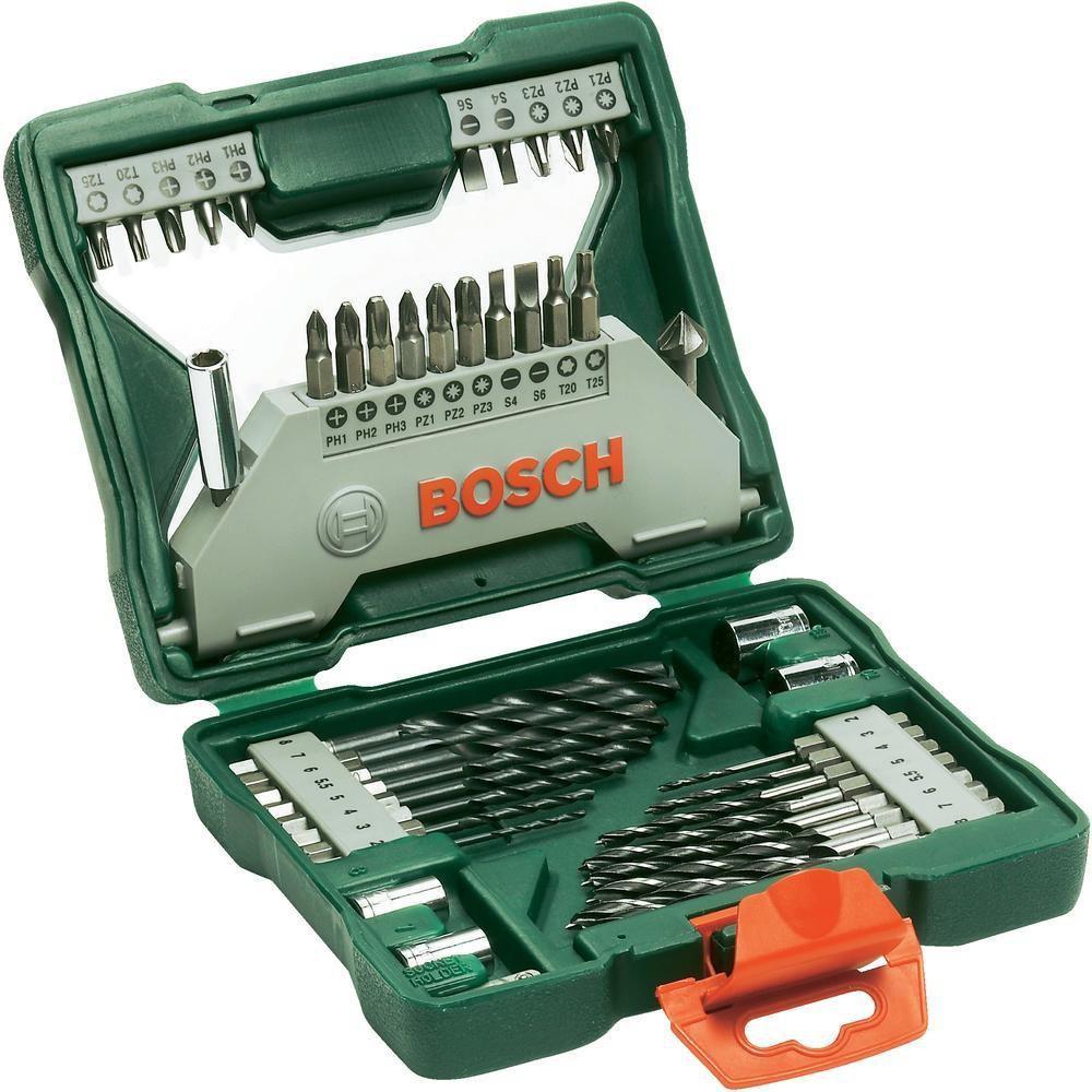 Coffret de mèches 43 pièces Bosch 2607019613 X-line