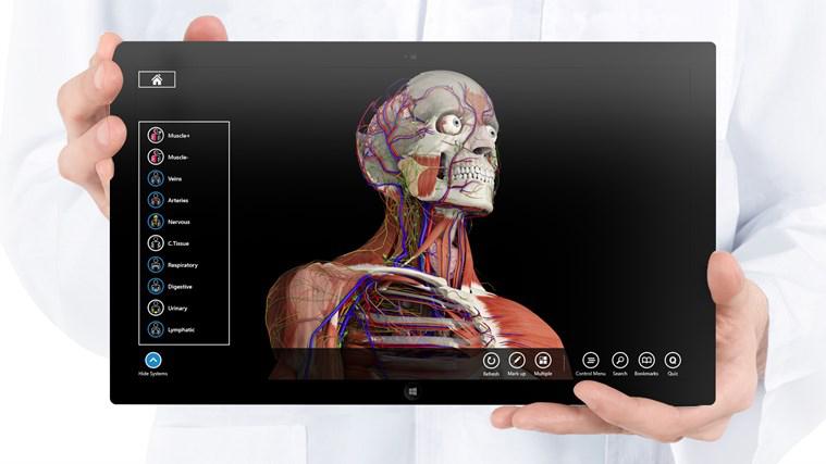 Application Essential Anatomy 3 sur Windows 8