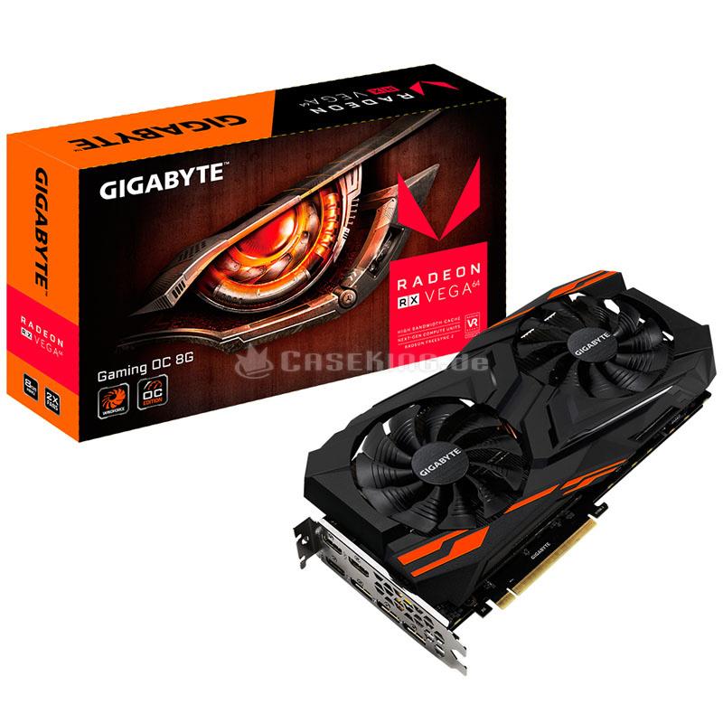 Carte graphique Radeon RX Vega 64 Gaming OC - 8 Go, HBM2