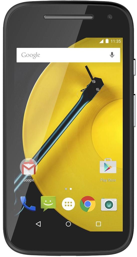"""Smartphone 4.5"""" Motorola Moto E 4G - Noir ou Blanc (ODR de 20€)"""
