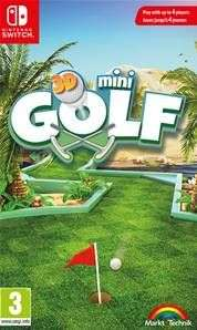 Mini golf 3D sur Nintendo Switch