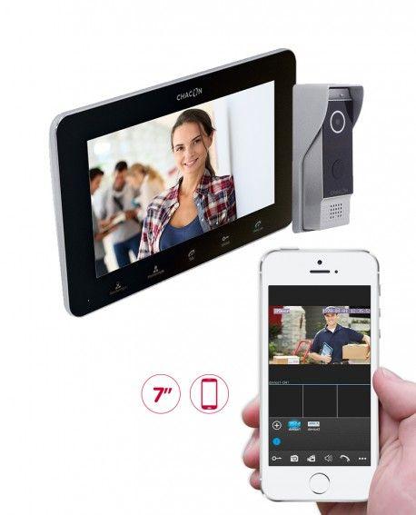 Visiophone IP avec écran Chacon CH34890