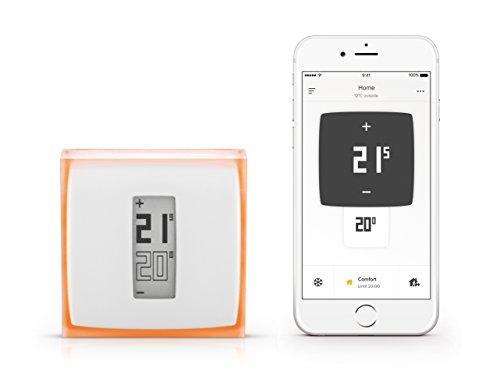 Thermostat Connecté Netatmo pour chaudière individuelle  (via ODR 30€)