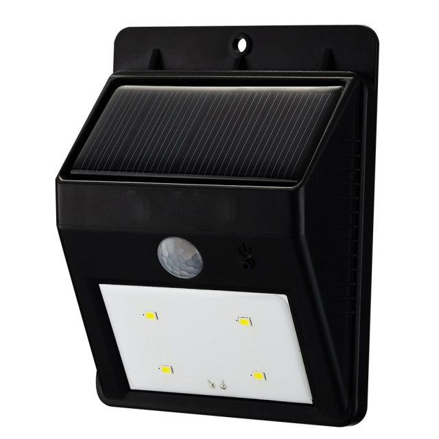 Lampe solaire à détecteur de mouvement 4 LED