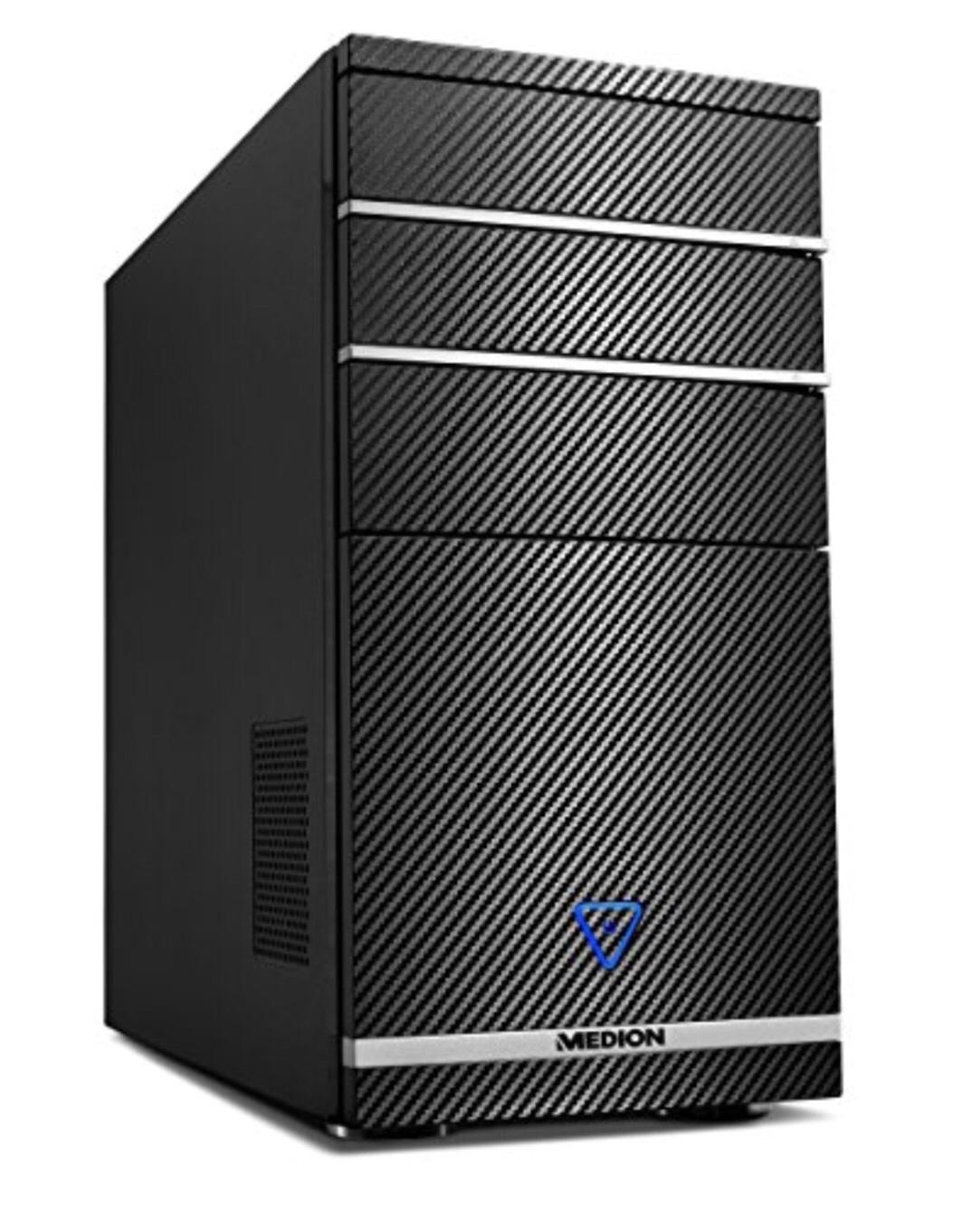 PC de bureau Medion Akoya P66023 - Intel Core I5-8400, 8Go de RAM, 128Go SSD + 1To HDD, GTX 1050Ti
