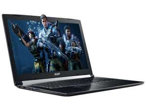 PC portable 15,6 pouces ACER A715-71G-51MQ -  Core i5-7300HQ - GTX 1050 - 8 Go RAM - 1 To HDD