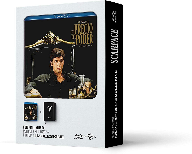 Coffret Blu-ray Scarface + Agenda