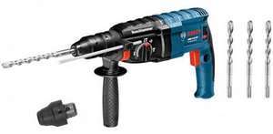 Perforateur burineur SDS-Plus Bosch GBH 2-24 DF Professional + 3 Forets Bosch