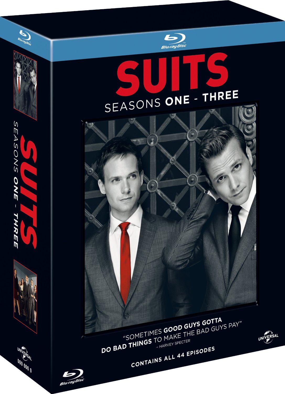 Coffret Blu-ray Suits - L'intégrale des saisons 1 à 3
