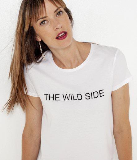 Jusqu'à 50% de réduction sur une sélection d'articles - Ex : T-shirt femme 100% coton The Wild Side