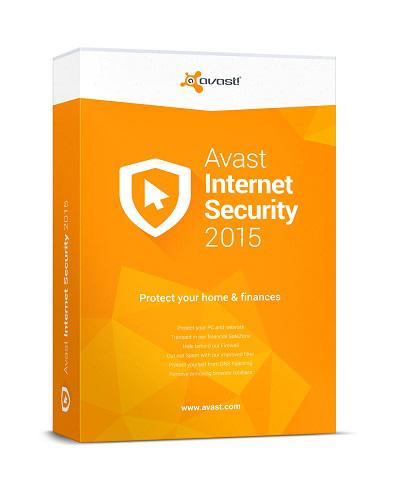 Avast Internet Security 2015 Gratuit (licence 6 mois)