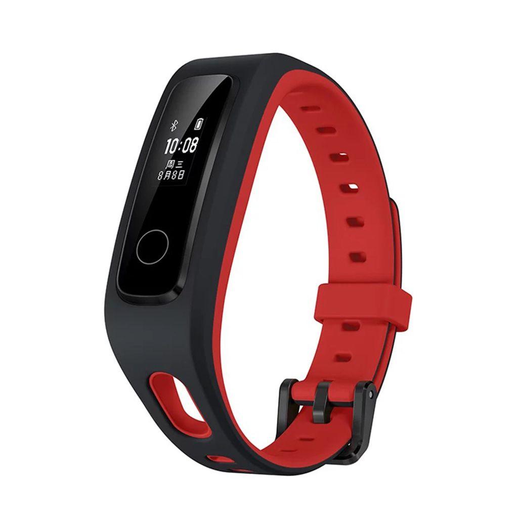 Bracelet connecté Huawei Honor Band 4 Version Running (Noir/Rouge ou Noir/Vert)