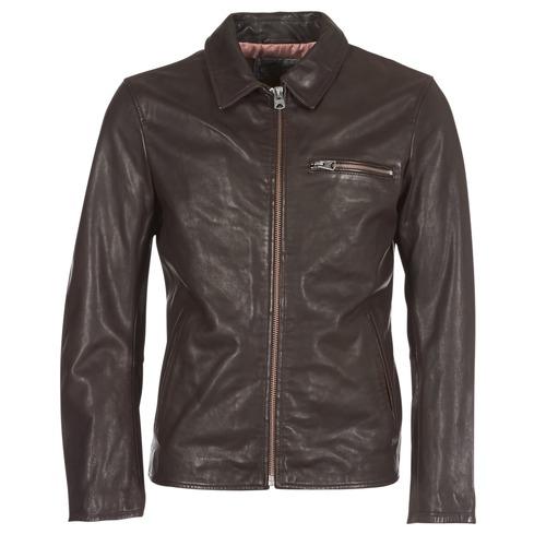 Vestes en cuir Chevignon Jack - Marron (Plusieurs tailles)