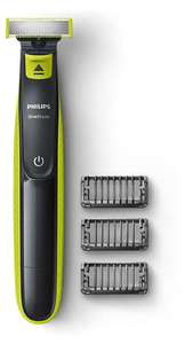 Rasoir Philips OneBlade QP2520/20 + 3 sabots clipsables
