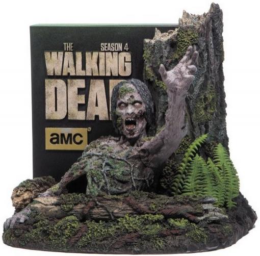 Coffret Blu-ray Intégrale Saison 4 The Walking Dead en Edition Ultime Limitée