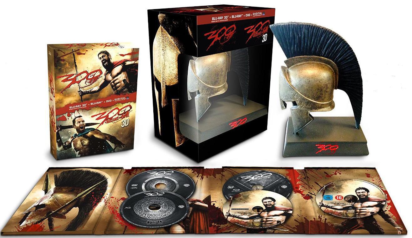 Coffret Blu-ray: 300 + 300  naissance d'un empire (Édition limité)