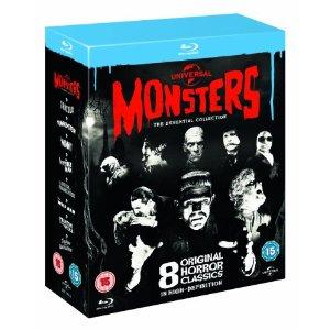 Coffret Blu-ray Monsters : 8 Films