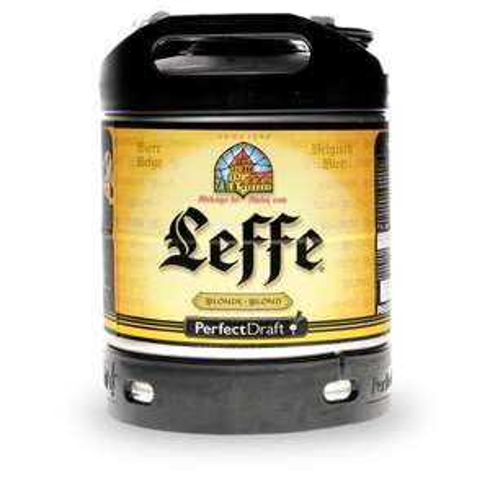 Fût de bière blonde Leffe Perfectdraft - 6L -  Massy - Essonne (91)