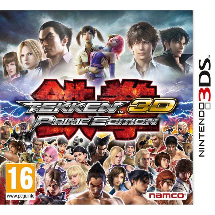 Tekken 3D Prime Edition sur 3DS + Boitier de rangement noir offert