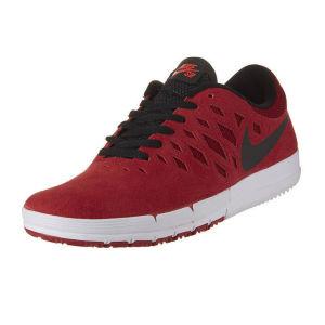 Baskets Homme Nike Free SB Rouge