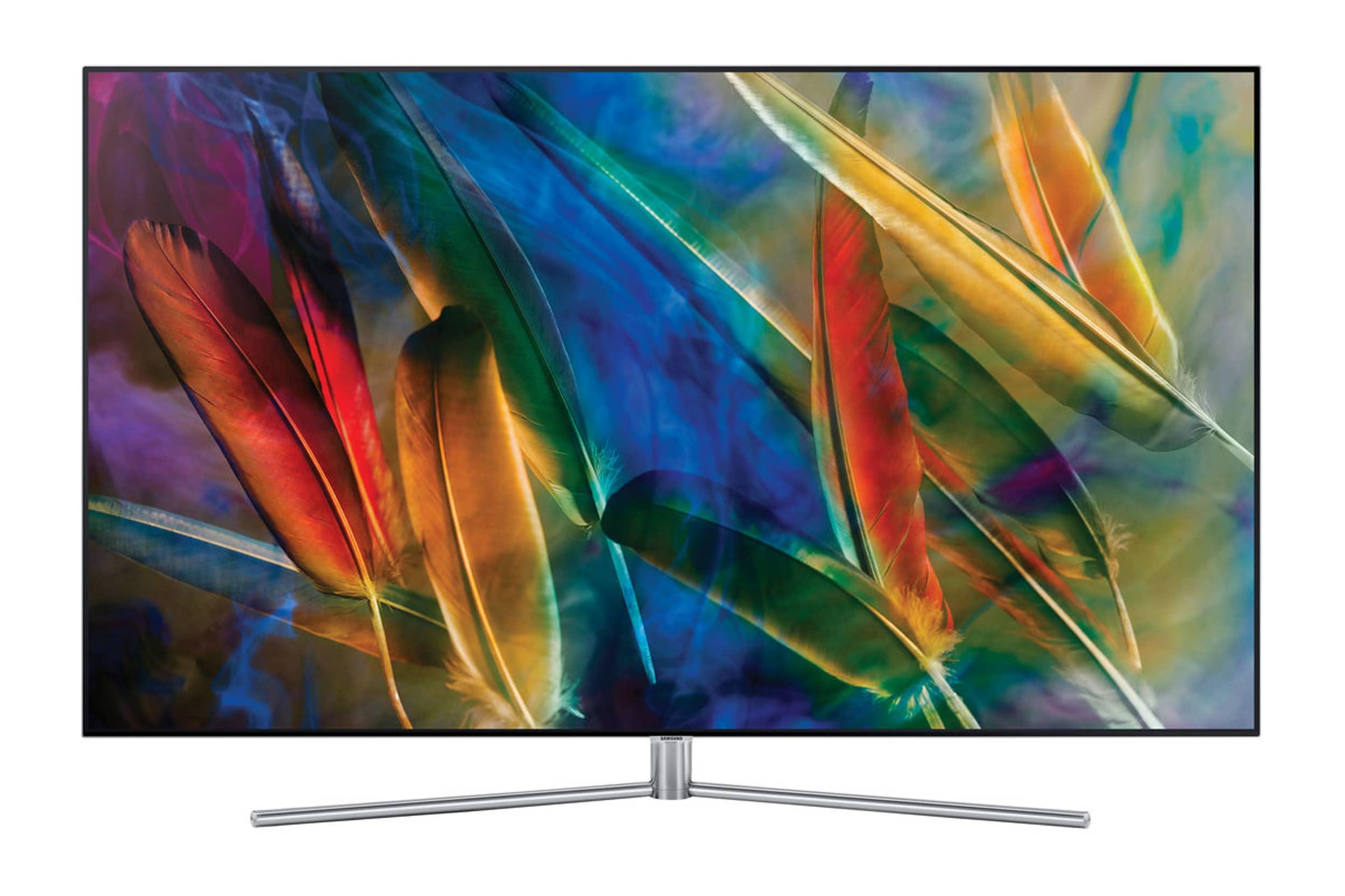 "TV 55"" Samsung QE-55Q7F (2017) - QLED 4K (Frontaliers Suisse)"
