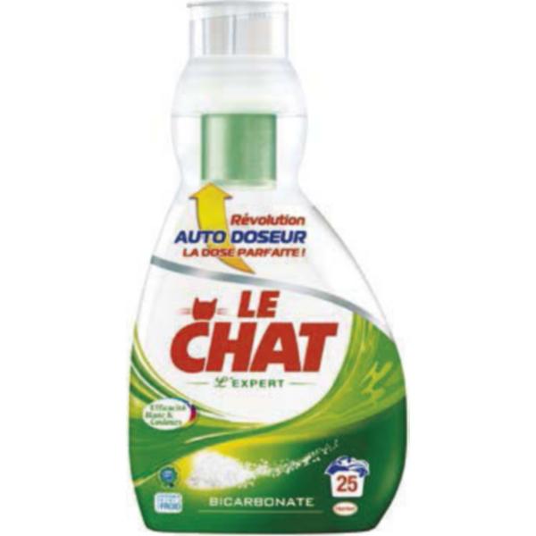 Lessive Le Chat auto-doseur L'expert ou Eco efficacité 25 lavages (50% immédiat + BDR)