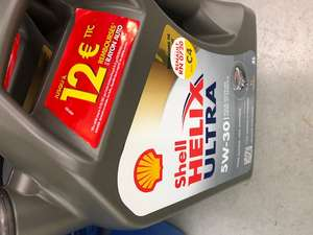 Bidon d'huile moteur Shell 5w30 Helix Ultra 5L - Aucamville (31)