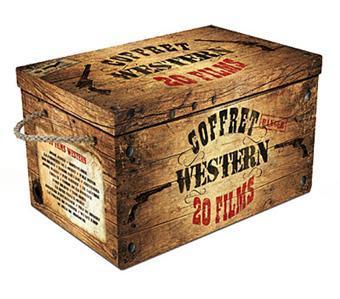 Coffret DVD Western 20 films