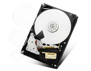 "Disque dur interne 3.5"" Hitachi Ultrastar - A7K2000 - 2To"