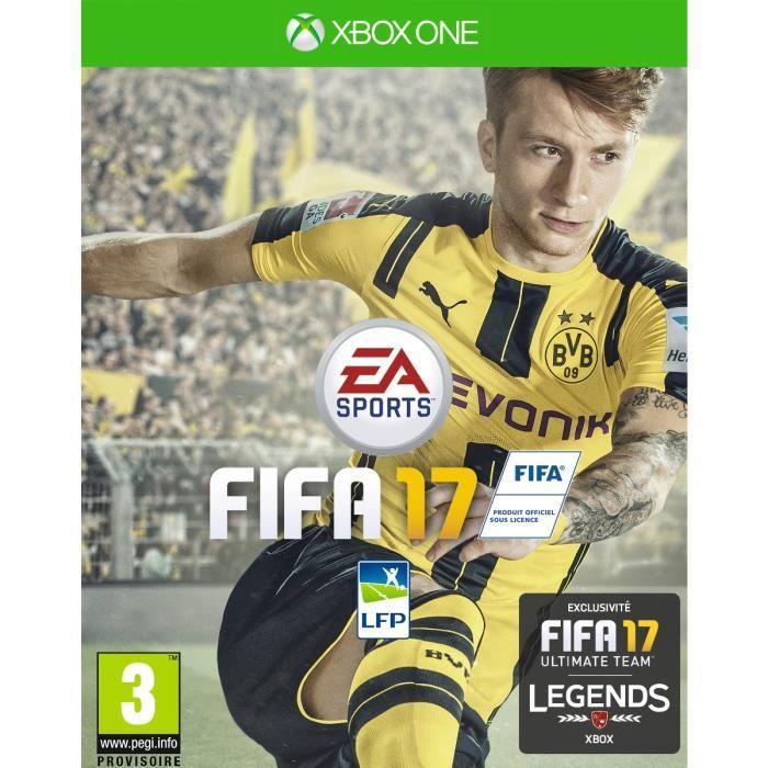 Jeu Fifa 17 Deluxe sur Xbox One