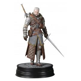 Figurine The Witcher 3 - Geralt armure école de l'Ours de Grand Maître