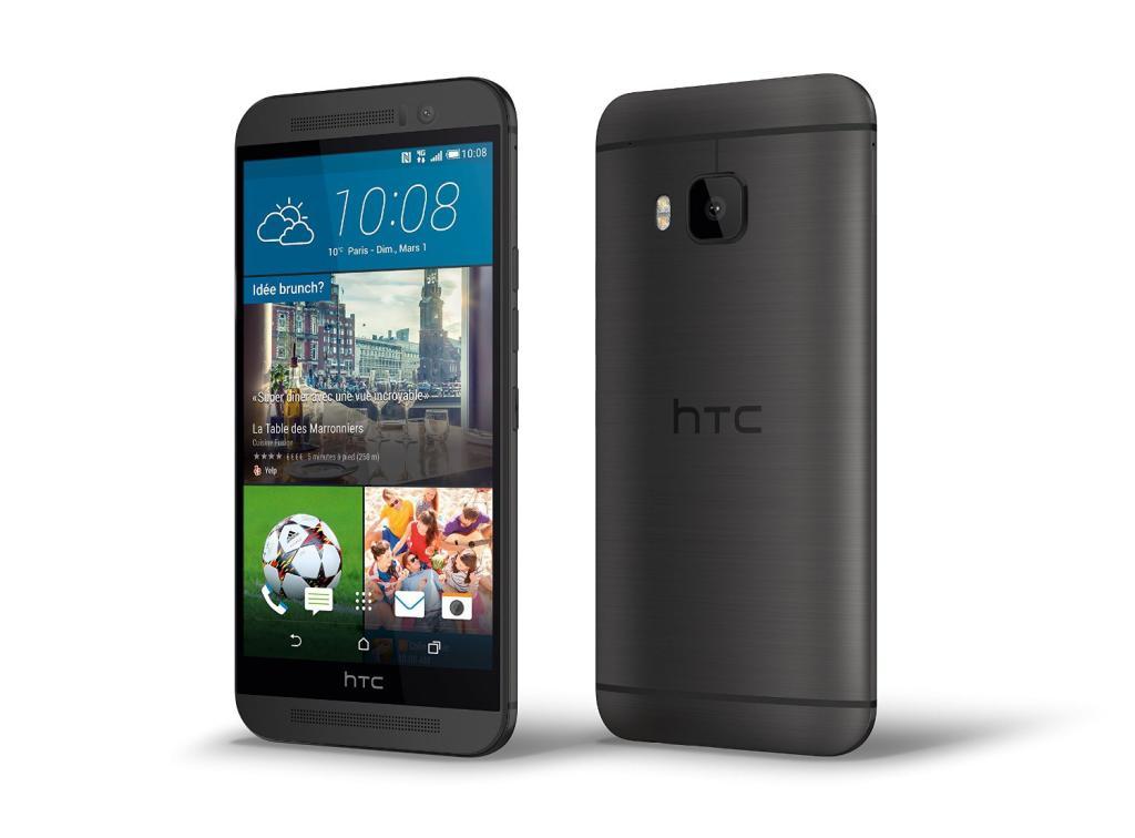 "Smartphone 5"" HTC One M9 - 4G (32 Go - Android 5.0 Lollipop) - Gris (via ODR de 70€)"