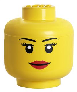 Têtes de rangement Lego - Fille ou Garçon