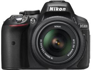 Appareil Photo Reflex Nikon D5300 Noir + AF-S 18-55mm f/3.5-5.6 G VR II Objectifs