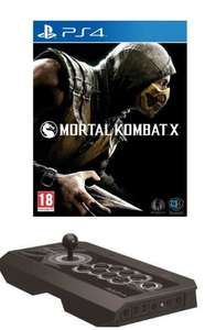 Pack Joystick Real Arcade Pro PS4 + Mortal Kombat X Jeu PS4