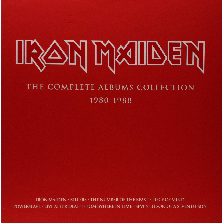 Coffret Collector Iron Maiden (3 Vinyles)