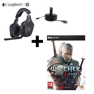Casque Micro PS4/PC Logitech G930S + le jeu The Witcher 3 sur PC