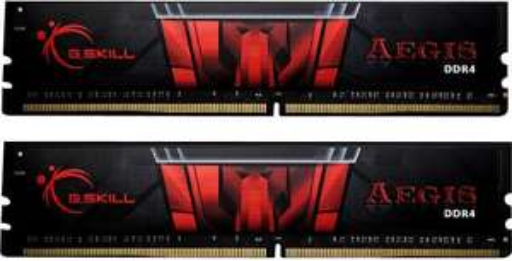 Kit mémoire Ram DDR4 G.Skill Aegis 16 Go (2 x 8 Go) - 3000 MHz, CL16