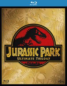 Coffret Blu-Ray Jurassic Park Trilogy