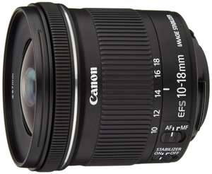 Objectif Canon EF-S 10-18 mm f/4,5-5,6 IS STM (avec ODR 30€)