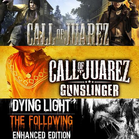 Bundle Call of Juarez + Call of Juarez : Gunslinger + Dying Light : The Following Enhanced Edition sur PC (Dématérialisé - Steam)