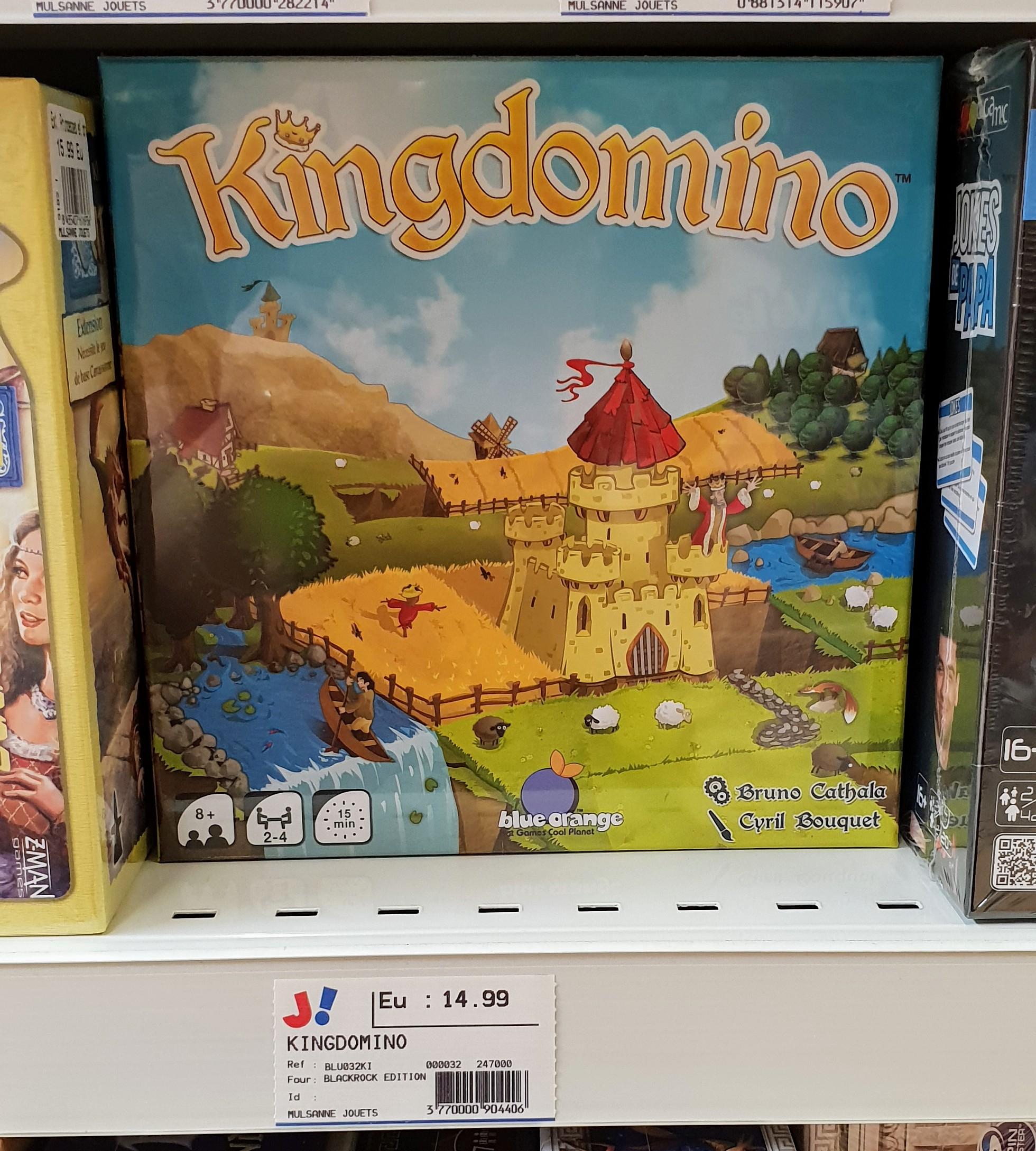 Kingdomino (Spiel des Jahres 2017) - Mulsanne Le Mans (72)