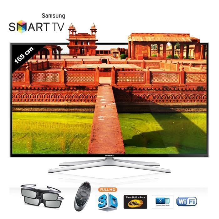 """TV LED 65"""" Samsung UE65H6400 (+ 200€ en bon d'achat)"""