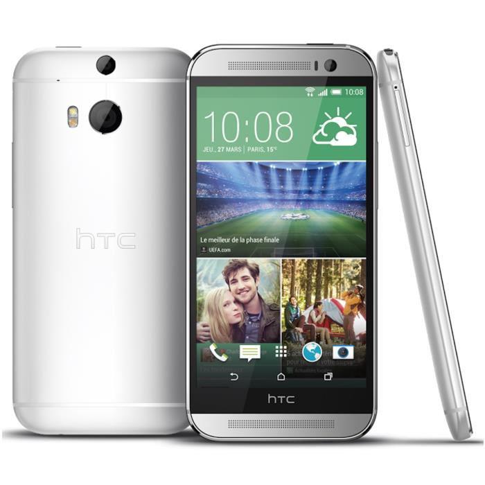 """Smartphone 5"""" HTC M8S 16Go 4G Gris (Avec ODR de 30€)"""