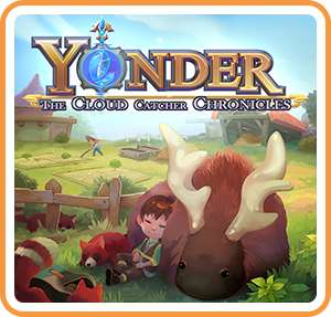 Yonder: The Cloud Catcher Chronicles sur Nintendo Switch (Dématérialisé)