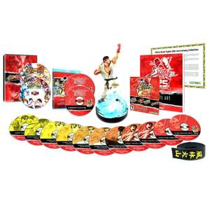 Street Fighter 25th Anniversary Collector's Set (PS3, xbox 360) toutes taxes comprises