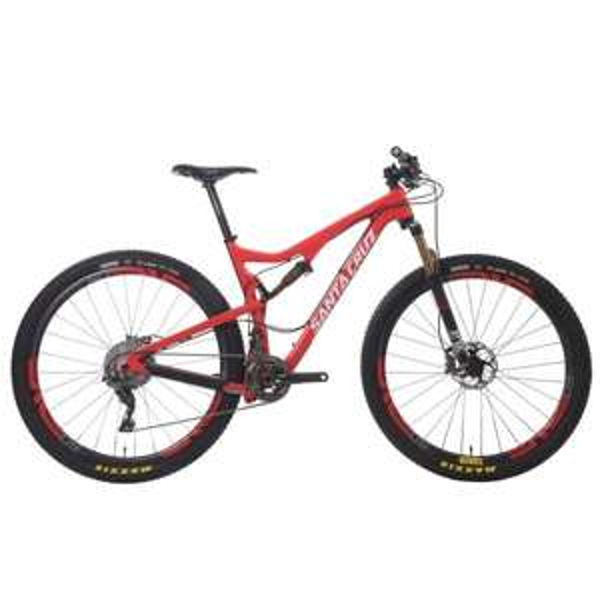 "Vélo VTT 29"" Santa Cruz TALLBOY 2 - Carbone, Rouge/Blanc"