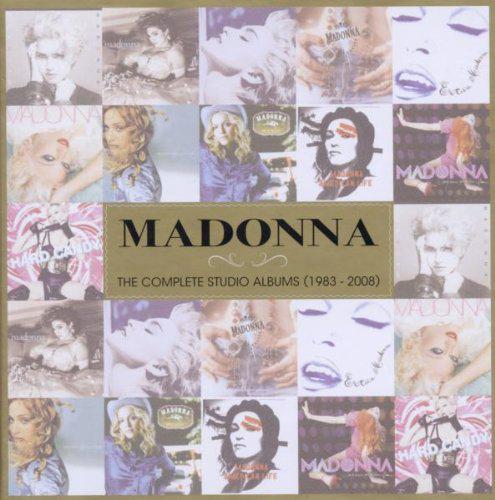Madonna: Complete Studio Albums (1983 - 2008) (11CD)  Edition limitée